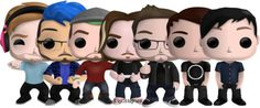 Fanmade youtuber pop vinyls>>>Dan, Phil, and Markimoo pls!
