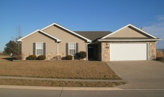 2610 E Bulrush Drive, Columbia MO 65202  1500+ square foot ranch on a slab 3 bedrooms 2 baths Awesome over-sized patio in the back A Must See!!