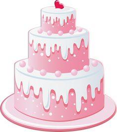 Birthday Clipart, Art Birthday, Birthday Wishes, Pink Birthday, Cake Clipart, Cooking Icon, Cupcake Logo, Cake Logo Design, Cake Drawing