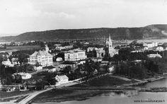 Kuhavuoren näkötornista - Sortavala Finland, Wwii, Paris Skyline, Russia, Anna, Lost, Travel, Songs, Vintage