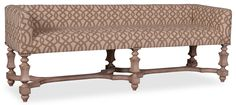 The Foundry Bellevue Bench by A.R.T. Furniture Inc