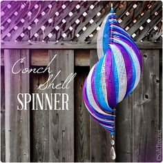 wind spinner conch shell