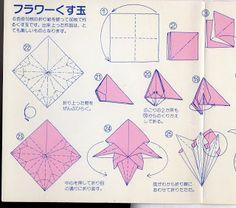 MARIA DOBRADURA: guirlandas e origamis