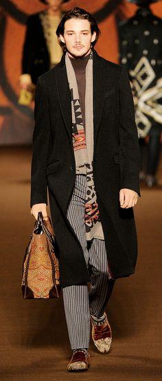 e97274836fa Etro Man Autumn Winter 2012-13 Runway Show Men Fashion Show