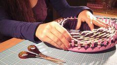 Mütze/Beanie mit Muster stricken mit dem Knitting Loom bzw. Strickring (...