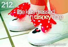 I can't wait to have kids so I can do this. I already have some great ideas for Disney attire!