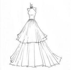 An Urban Cottage: Wedding Wednesday {on Thursday}: Dress Sketches