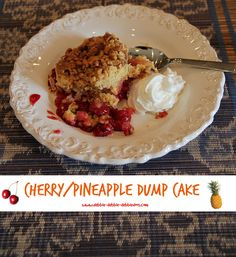 Cherry/Pineapple dump cake - Powered by @ultimaterecipe