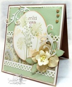 Miss You by suzannejdean - Cards and Paper Crafts at Splitcoaststampers