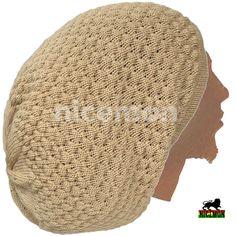 57491962aa9 Rasta Dread Dreadlocks Tams Hat Beret Hippie Cap Reggae Marley Jamaica L XL  Fit