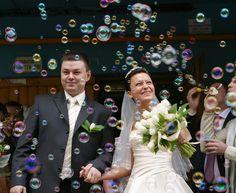 Electric Bubble Blower Machine DJ Disco Club Bubbles Maker Kids Party Wedding UK