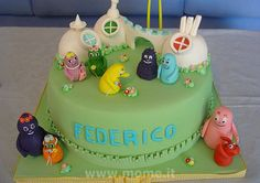 Barbapapa's cake by simope, via Flickr