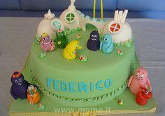 Barbapapa's cake by simope, via Flickr