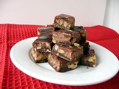 Chocolate Walnut Fudge by Brown Eyed Baker