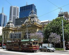 Princess' Theatre & City Circle Tram - Melbourne by Dean-Melbourne, via Flickr/We loved the tram system in Melbourne