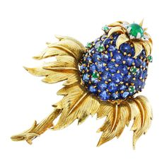 SCHLUMBERGER Tiffany & Co Flower Pin