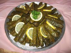 Food Middle East/North Africa - Eten Midden Oosten/Noord Afrika ( Turks/dolmas )