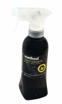 Method Granite & Marble Spray, Orchard Blossom, 12 oz. This multi-pack contains 2. by Method. $24.97. Multi-Pack. 8 x 2 x 2. Leave any granite or marble surface smooth, shiny and residue free with this polishing spray. The gentle corn and coconut oil formula buffs and cleans and the bottle is 100% recycled plastic. Method Cleanings' naturally derived products give you a clean feeling that's safe for you and safe for the environment. Products are non-toxic and made fro...
