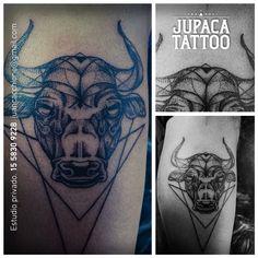 Juan Pablo Cacchione :: jupaca tattoo :: bull tattoo :: toro tatuaje