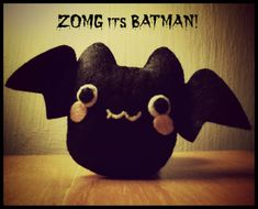 Hapy Friends Shoppe: Halloween : How To Sew A Bat Plushie Tutorial
