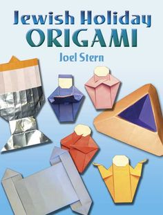 This pin may link to origami for Jewish holidays, but the company has several origami books - for every age, level, and instrest.