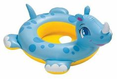 Inflatable See-Me-Sit Rhino Pool Rider by Intex. $6.50. Our inflatable rhino floating aid can be a great way for children to swim more easily and help less experienced swimmers achieve great mobility with our rhino float.