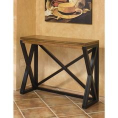 Intercon Siena Black and Cider Counter Height Breakfast Bar | Overstock.com Shopping - The Best Deals on Bar Tables