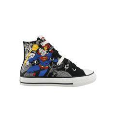 Superman and Batman converse!