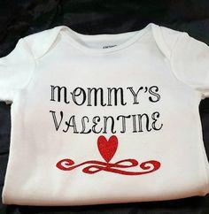 Birthday girl boy custom onesie or tshirt toddler bodysuit valentines day custom onesie or t shirt mommys valentine baby girl baby negle Images