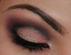Make-up Artist Me!: Today's Look: Sweet Golden Plum