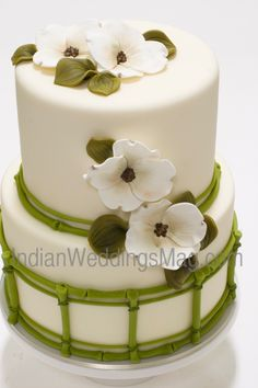 Indian Weddings Inspirations. Green Wedding Cake. Repinned by #indianweddingsmag indianweddingsmag.com #studiocake
