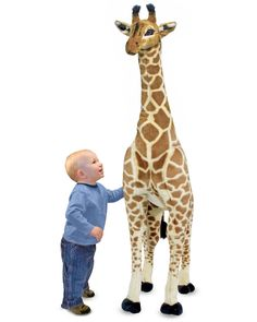 You need to see this Melissa & Doug Jumbo Plush Giraffe on Rue La La.  Get in and shop (quickly!): https://www.ruelala.com/boutique/product/100288/32793983?inv=arbonnelayton&aid=6191