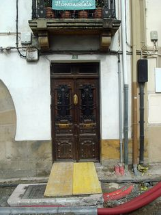 Hondarribia door