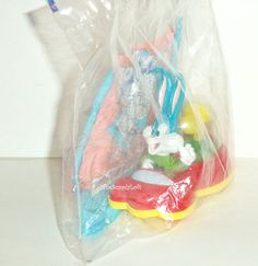 Sale Vintage Sealed 1992 Tiny Toon Adventures Buster Bunny Toy Figure McDonald's Happy Meal Toy Warner Brothers Collectible Gift
