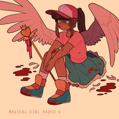 It's been a while since I made a mix, so I finally actually had some new songs to put together for another Magical Girl Radio! Listen to it here!