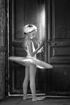 Learning to move her body to its limitations. Teaching her body to listen to her souls desires. She is learning to fly. She is learning self discipline and control of emotions and that she is limited only by her imagination. Dance is heavenly.