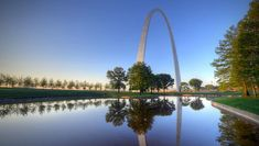 Missouri - Gateway Arch Credit: STLJB/ Shutterstock The tallest free-standing arch in the world deserve its recognition. The 630-foot monument turned national park was complete in 1965 as a monument to recognize the westward expansion of the United States. Set on the Mississippi River, it's an iconic part of St. Louis, and a tribute to the American spirit,