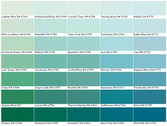 Paint Color Combinations Teal Colors Interior For Home