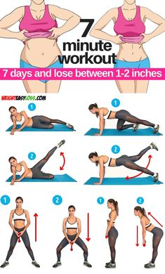 7 days & lose between inches 7 days & lose between inches Yoga Fitness, Fitness Tips, Health Fitness, 15 Min Workout, Office Exercise, Nutrition, Sweat It Out, Workout For Beginners, Fett