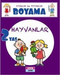 Itırcık Ile Pıtırcık Boyama 2 Yaş Hayvanlar çocuk Kitapları