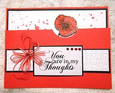 I Love Stamping: You are in my Thoughts