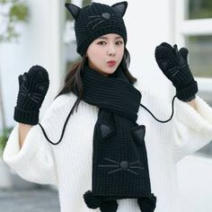 23 Best Best womens hat scarf and glove set for winter images ... cfa487f5de7