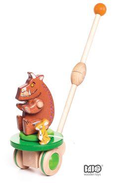 Gruffalo push-along toy by Bajo