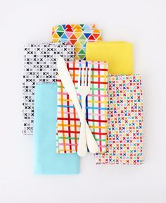 Easy Sewing Projects to Sell - DIY Dinner Napkins With Mitered Corners - DIY Sewing Ideas for Your Craft Business. Make Money with these Simple Gift Ideas, Free Patterns, Products from Fabric Scraps, Cute Kids Tutorials http://diyjoy.com/sewing-crafts-to-make-and-sell