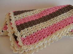 Babydecke ° Kuscheldecke ° gehäkelt von Handmadeblues auf DaWanda.com