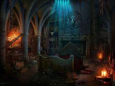 Medieval science room by gurgur on DeviantArt Fantasy Rooms, Fantasy Castle, World Of Fantasy, Fantasy Places, Medieval Fantasy, Medieval Castle, Fantasy Concept Art, Fantasy Artwork, Dark Fantasy