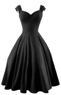 Empire Sweetheart Neckline Swing Dress