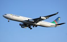 Air Namibia Airbus A340-311 (registered V5-NMF)