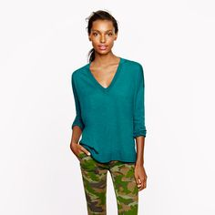 #Camouflage #pants ––– although the site is about the the boyfriend sweater out of smooth merino #wool.