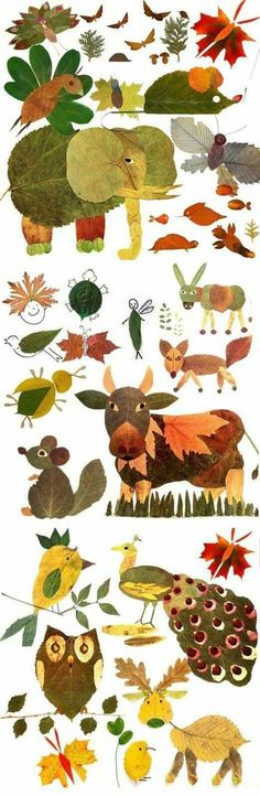art projects for kids using nature * art using nature for kids Autumn Crafts, Fall Crafts For Kids, Autumn Art, Nature Crafts, Projects For Kids, Autumn Leaves, Diy For Kids, Kids Crafts, Art Projects